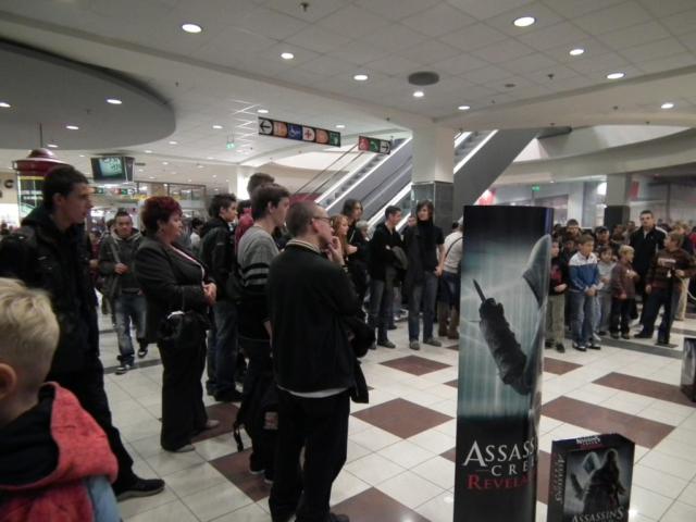 "Assassin""s Creed megjelenési party."