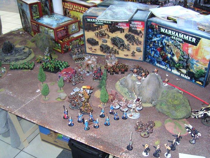 Warhammer csata az asztalon